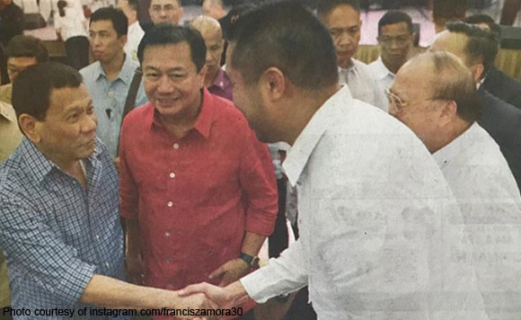 Ronny, Francis Zamora sign up as PDP heads in San Juan