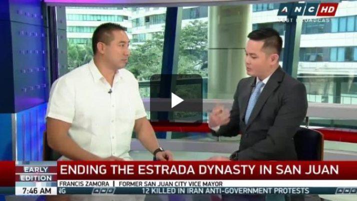 Zamora seeks to dethrone Estradas in San Juan