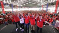 Oath-taking of San Juan City PDP-Laban officers, members held